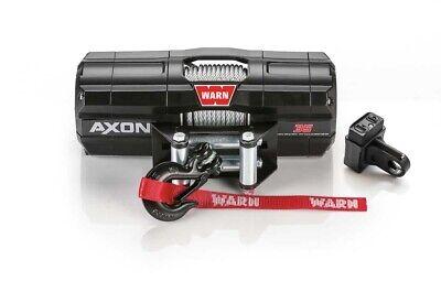 NEW WARN AXON 3500LB WINCH AXON-35 WIRE ROPE WINCH FOR UTV'S 101135