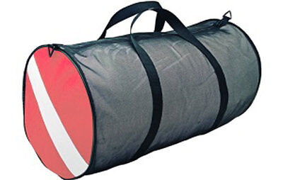 CSS Logo Dive Flag Mesh Scuba Diving Duffel Gear Bag BG0295