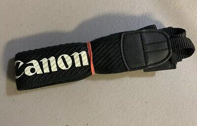 Canon EOS Vintage Black / White Camera Neck Strap For SLR