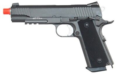 *350 FPS* WELL G194 1944 GAS POWERED BLOWBACK Airsoft Side Arm Pistol