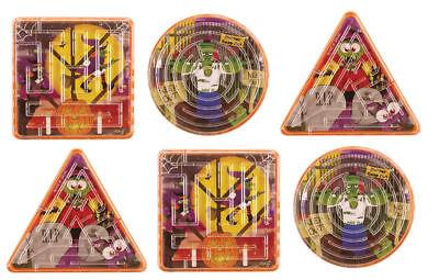 12 Halloween Labyrinthe Puzzle - Pinata Jouet Sachet / Pochette Surprise Enfants - Labyrinthe Halloween