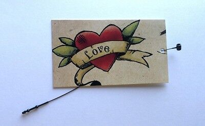 100 Clothing Tags Hang Tags Price Tags Heart Accessories Tags 100 Plastic Ties