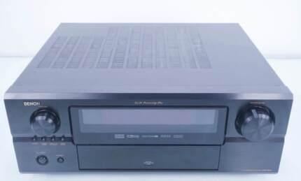 Denon AVR 3805 7.1 Channel x 120 Watt Audiophile Receiver (BLACK)