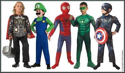 Halloween Fasching Karneval Kinder- Kostüme Superhelden - Halloween Helden Kostüme