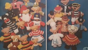 Vintage Toy Knitting Pattern Large 6