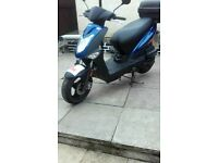 Kymco Agility 125 scooter.