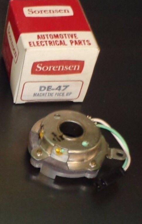 Vintage Sorensen Distributor Magnetic Pick-Up #DE47; fits 1980-82 Various G.M.