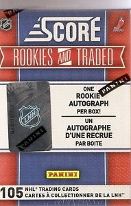 2010-2011  Score Rookie & Traded Hockey Hobby Box (Full Set)