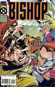 BISHOP-4-1995-6-MARVEL-SERIES-FOIL-COVER-NM-MINT-X-MEN