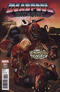 DEADPOOL: BACK IN BLACK #1 Marvel Comics Venom TODD McFARLANE INSPIRED VARIANT!