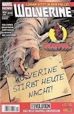 Comic - Marvel NOW - Wolverine und Deadpool Nr. 10 von 2014 - Panini Verlag deut