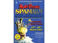 Heywood AODS present Spamalot the musical