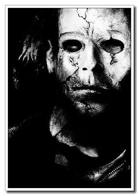 Halloween 2 II Michael Myers Horror Face 24