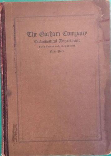 Antique Gorham Trade Catalog Silver Chalice Candlestick Crozier Cross Crucifix X