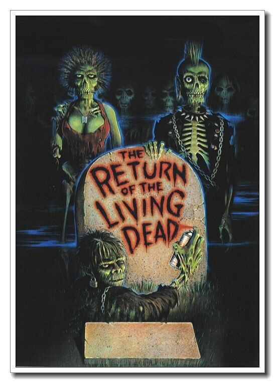 24x36 14x21 Poster Return of the Living Dead Classic Horror Movie Art Hot P-602