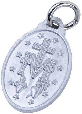 Lot de 100 Médailles Miraculeuses Argentées Vierge Marie rue du bac communion