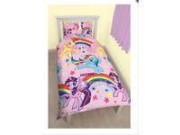 Brand New My Little Pony Single Duvet Set