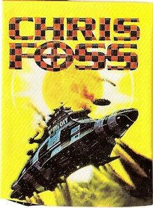 1995 FPG Chris Foss Card Set & Free Case