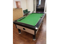 Excel Pool Table - 6ft, retouched in past 18 months, small surface scratches