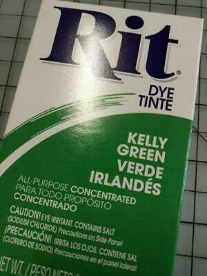 Rit Fabric Dye/Tint - All Purpose - Best for 100% Cotton - Kelly