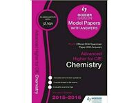 Used Advanced Higher Chemistry Past Paper