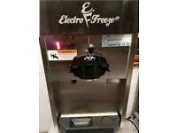 ELECTRO FREEZE CS4 ICE CREAM/ FROZEN YOGHURT MACHINE. USED 12 MONTHS ONLY SEASONALLY