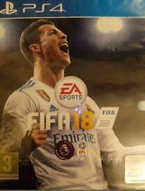 Fifa 18 PS4 UK PAL BRAND NEW & SEALED