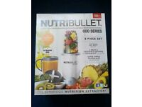 New Nutribullet 600 boxed