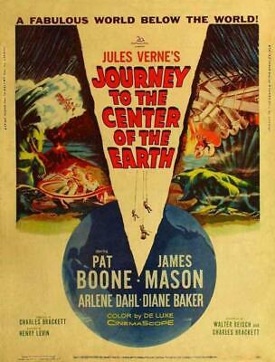 Journey to the Center of the Earth 11x17 Movie Poster