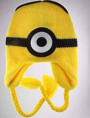 New Despicable Me Minion Eye Laplander Cap Nintendo - Despicable Me Hat