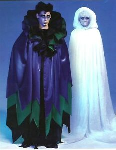 PATTERN-McCALLS-Goth-Emo-Rave-DJ-Dubstep-Ghost-Cape-Costume-SEWING-S-to-XL-6630