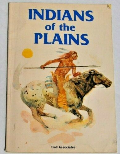 Indian of the Plains Rae Bains 1985 Children
