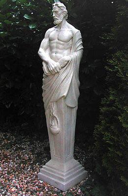 männlcihe Figur Gartenfigur Statue klassisch antik  mediterran 120cm St06-1-a