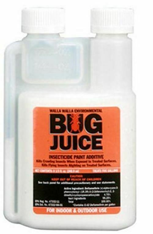 Bug Juice Insecticide Paint Additive  (8.33 oz., treats 5 Gallons)
