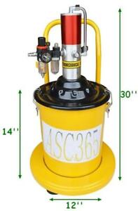 5 Gal Air Grease Injector Pneumatic Pump High Pressure Delivery#140046