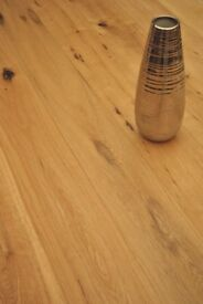 Cheetah White Oak Engineered Flooring, Rustic, Brushed, UV Oiled, 148x3x14 mm (2.2m sq in total)