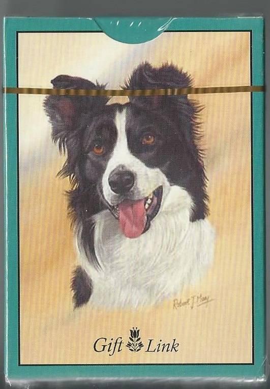 Giftlink Playing Cards Sealed Deck Border Collie Dog 2006
