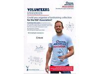 Fundraising Team Leader volunteer required for RAF Association