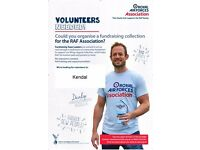 Fundraising Team Leader volunteer required for the Kendal area for the RAF Association
