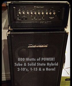 Traynor higher end bass amp combo