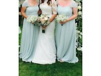 Monsoon bridesmaids mint green dresses, brand new with tags