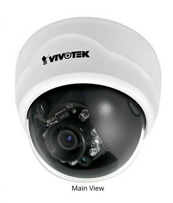 Vivotekfd8134 Fixed Dome Network Camera H.264 Brand New
