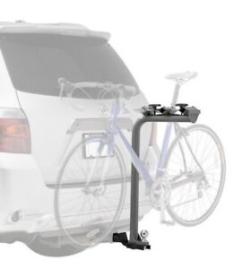 Bike rack trailer hitch mount without sacrificing  towing