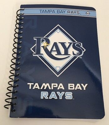 Tampa Bay Rats C.r. Gibson Personal Spiral Notebook College Ruled Licsd By Mlb