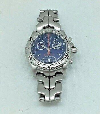 Men's Tag Heuer Link Searacer 200M Quartz Chronograph Wristwatch CT1115-0