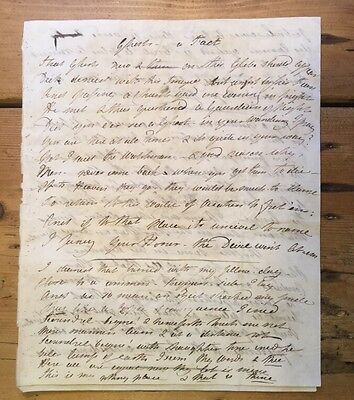 c1830 - Ghosts A Fact... And Other Verses - manuscript, handwritten