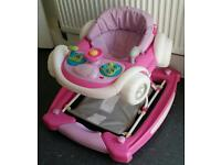 Baby walker and rocker musical activities toy