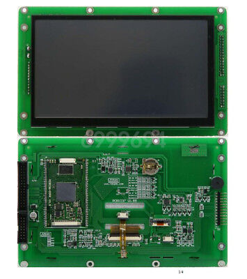 New 7 Glcd Hmi Spi Tft Lcd Display 800x480 Touch Screen Support Emwin