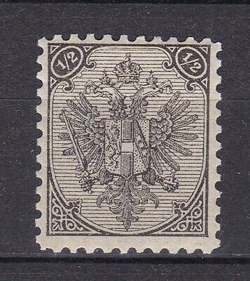 Bosnia Herzeg - 1889 -  Michel 9 I - Zahnung 11 - Steindruck - MH - 200 Euro
