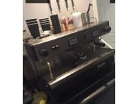 Magister 2group coffee machine for coffee shop cafe ice cream parlour